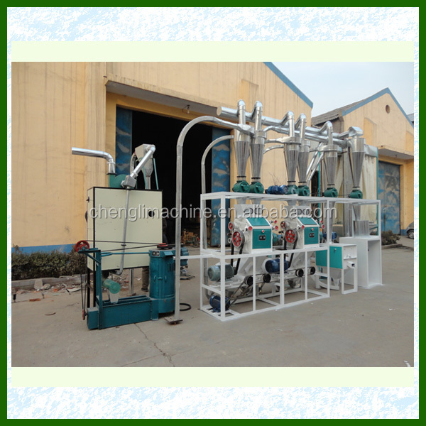 high gluten wheat bread flour milling machines with price