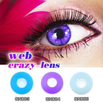 Halloween Colored Eye Contacts | Purple Cheap Halloween Color Contact Lens Dropship Buy Colored Eye