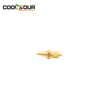 COOLSOUR Refrigeration brass fitting and brass connector with competitive price