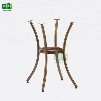 Bamboo Look Outdoor Bistro Table Legs For Marble Stone Tops E9029
