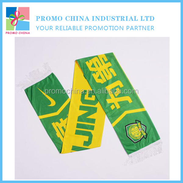 Cheap Promotional Mini Banner Football Soccer Fans Scarf