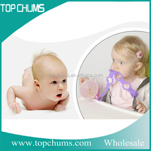 High quality safe baby soothie clip holder silicone pacifier