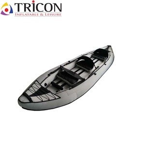 3 person hypalon inflatable kayak, fishing 3 seats inflatable kayak
