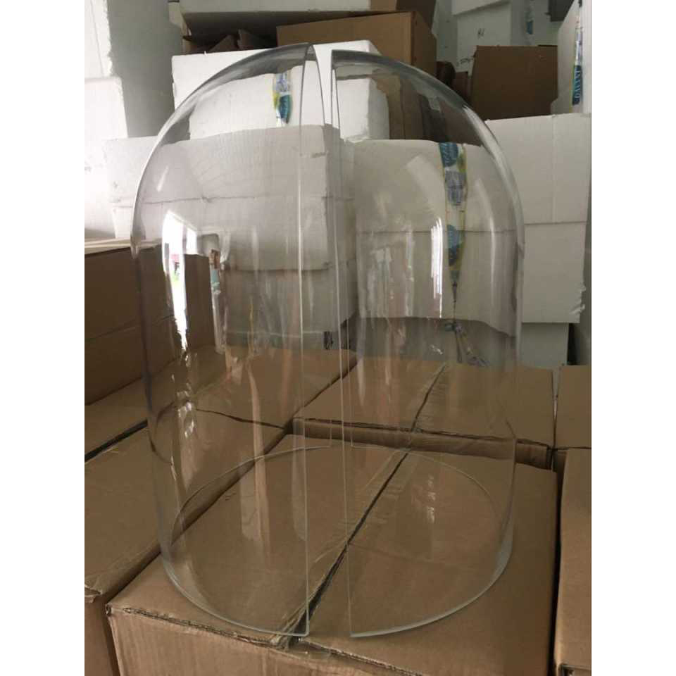 New Arrival Large Gl Dome Display Case No Metal Part R15xh40cm Cloche Lar For Jewelry