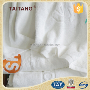 high quality fancy white soft 100% cotton small quality bath towels