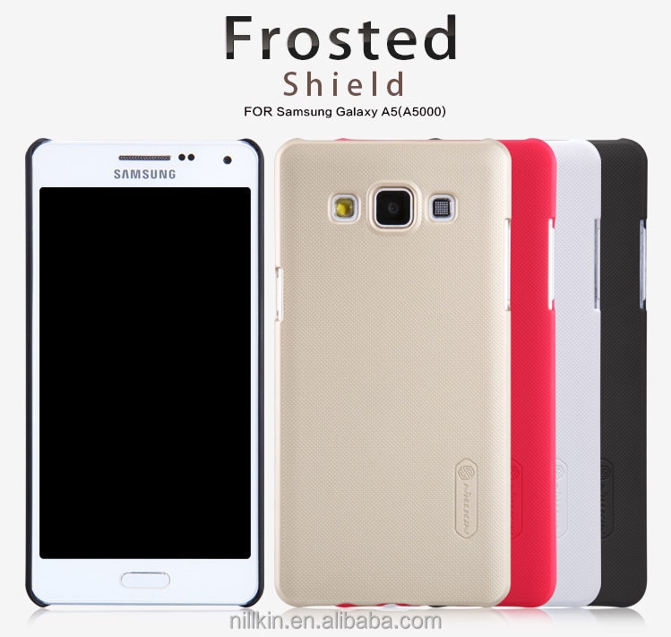 best authentic 3ff4e 9c510 2014 New Phone Case Nillkin Super Frosted Shield Case For Samsung Galaxy A5  Screen Film + De-dusting Sticker +screen Cloth - Buy Case For Cell Phone ...