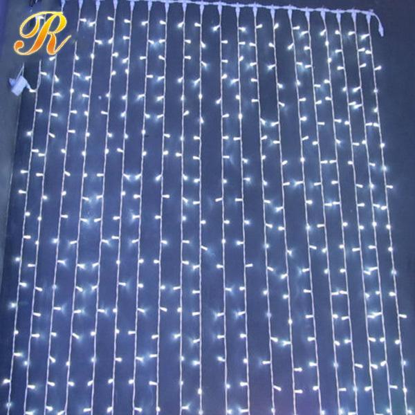 Christmas Led Curtain Lights Led Christmas Curtain Waterfall Lights