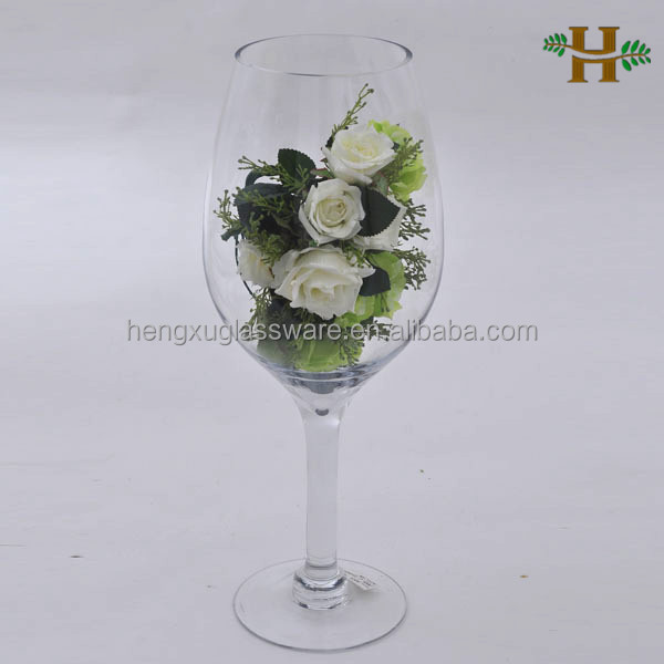 Wholesale martini glass vases centerpieces giant wine