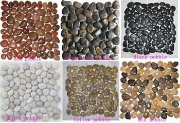 Garden Pebbles And Stones Pebble Tile