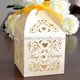"Wholesale and retailing ""love vine"" laser cut ivory pearl wedding favour boxes from Mery Crafts"
