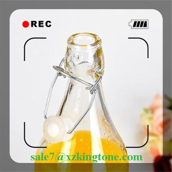 250ml/350ml/500ml Card Buckle Beverage Glass Bottle Beverage Juice ...
