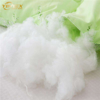 Hollow conjugated silicon polyester fiber