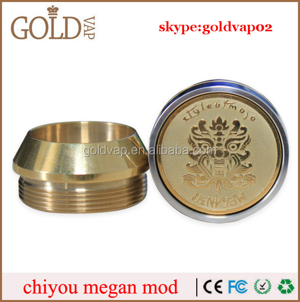 Most popular 26650 chiyou mod 2 caps for both 22mm and 28mm atomizers chi you megan clone mod