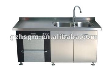 Mobili Da Cucina In Acciaio Inox/utensili Da Cucina Moderna In ...