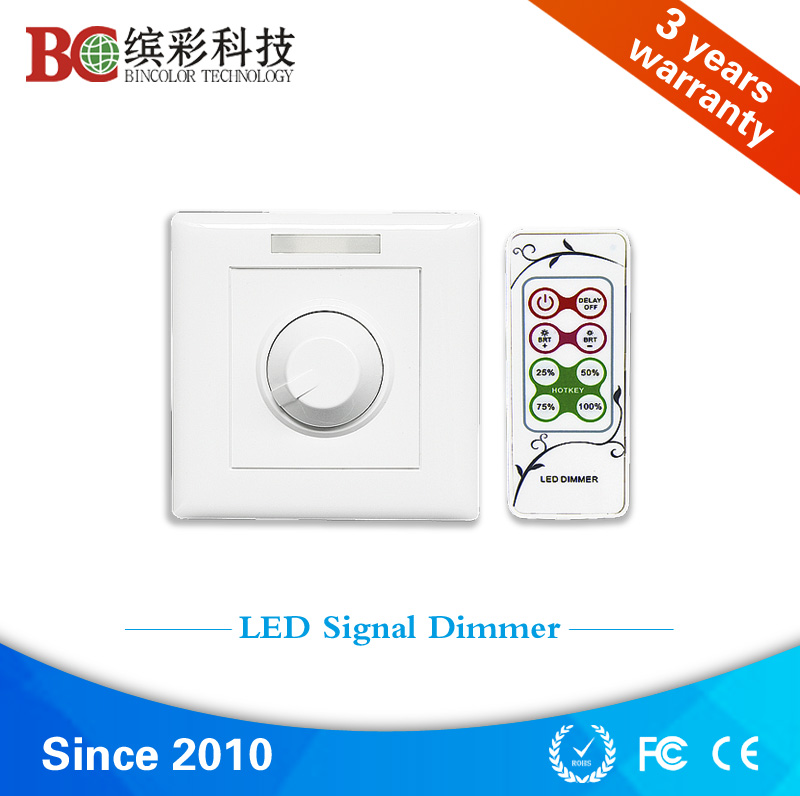 15v-48v wireless 0 10v signal switch knob led lamp dimmer