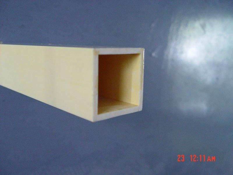 Pvc tubo cuadrado tubos de pl stico identificaci n del - Tubos cuadrados de pvc ...