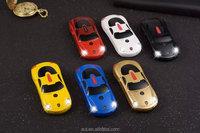 mini F5 Unlocked Sports car style mobile phone Dual Band Dual SIM MP3 phone