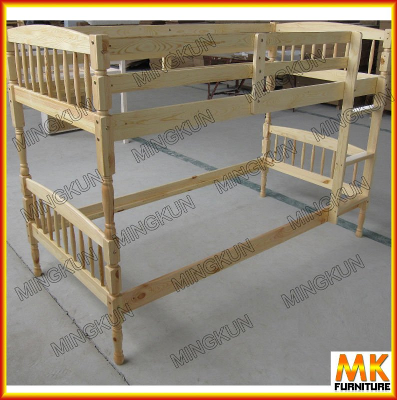 Solid Pine bunkbed with drawer