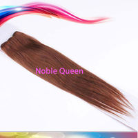 silky straight hair tangle free soft Brazilian remy hair Color 33# Straight Hair
