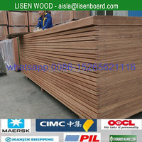 30mm Container Floor Ply Wood plate , Keruing Marine Plywood for shipping containers