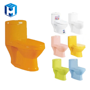 Child Wc Blue Red Color Porcelain Toilet For Sale