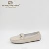Beige Leather fashion designer high-end ladies party shoes new design footwear