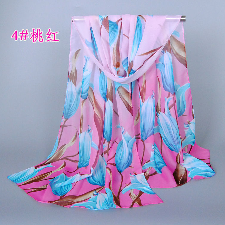 2015 New Arrival Floral Women Silk Scarf Fashion Scarves Shawl 160*50 Pashimina