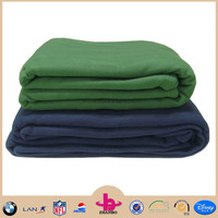 100% polar fleece material disposable airline blanket for wholesale