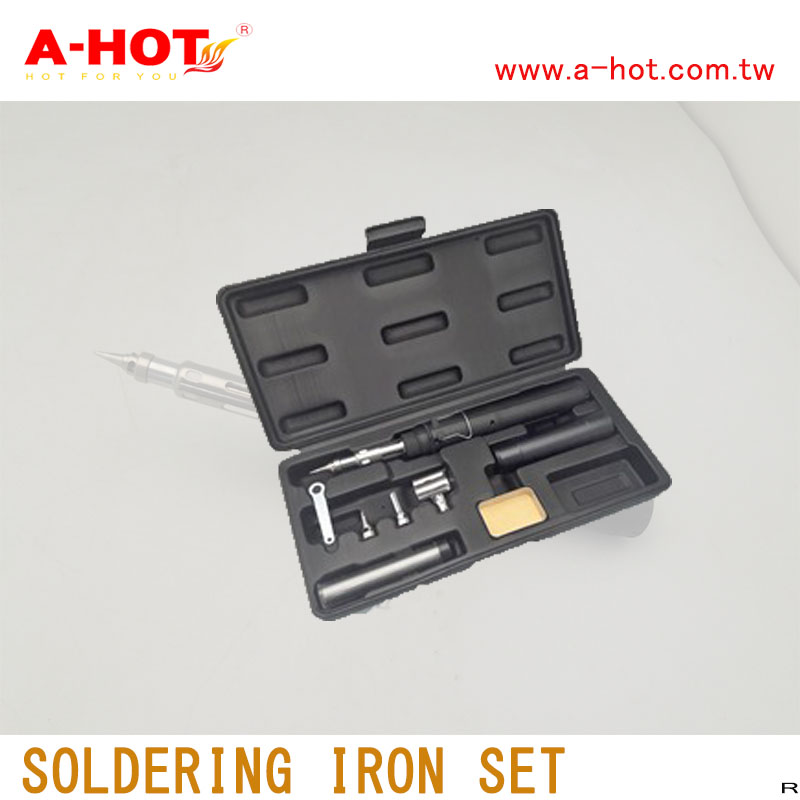 High performance high finely wood burning solder soldering iron kits set with constant temperature