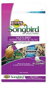 Songbird Selections Multi-Bird Blend Wild Bird Food with Fruits and Nuts, 15-Pound by Scotts