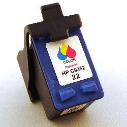 Remanufactured inkjet cartridge