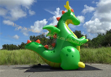 Inflatable World Green Dragon Inflation