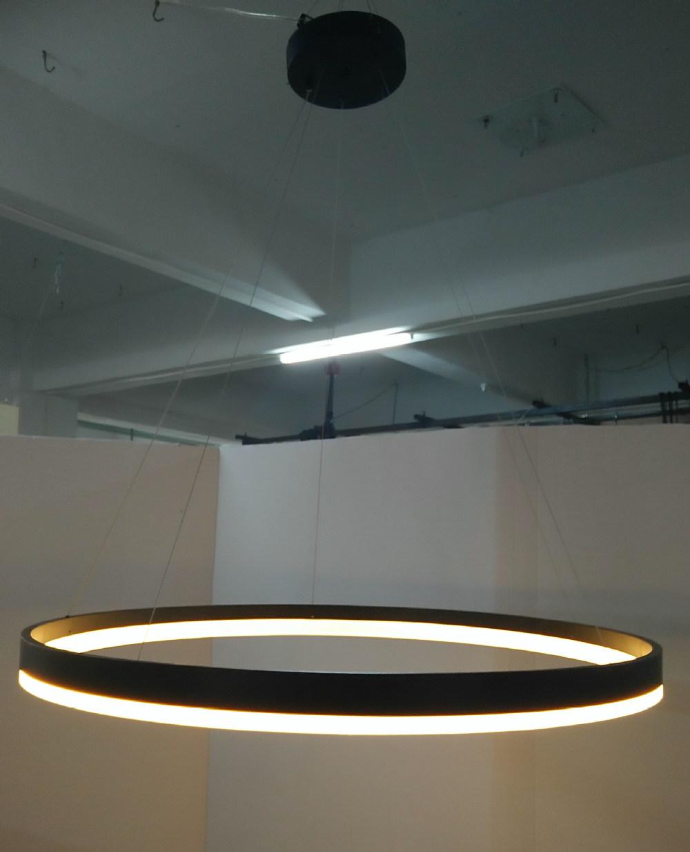 Big Circle Led Pendant Light