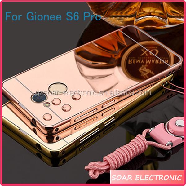 uk availability 3c8e0 f37ce [soar]for Gionee S6 Pro Case,Aluminum Metal Mirror Bumper Frame Back Cover  Mobile Phone Case For Gionee S6 Pro - Buy For Gionee S6 Pro Case,Mirror ...