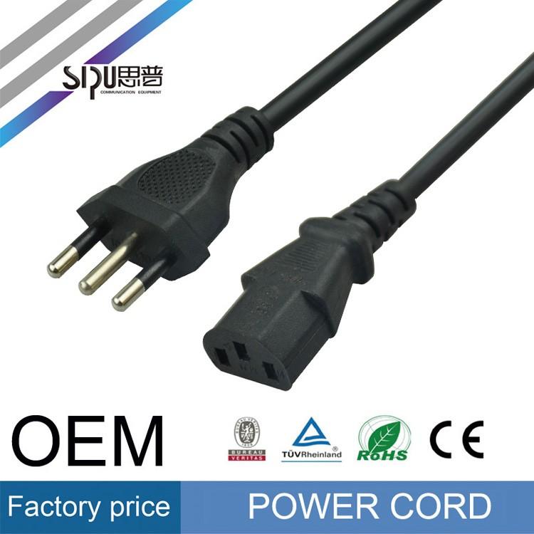 SIPU alta velocidade Itália cabo de cobre do fio elétrico plugue do cabo de  alimentação para df9bfcf896