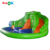 hippo the hulk inflatable floating water dry bouncer slide blower
