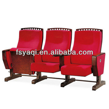 Outstanding Double Hall Seat Twin Bench Type Seating With Writing Table Deft Design Movable Auditorium Seating Ya 01E Buy Movable Auditorium Seating Cinema Lamtechconsult Wood Chair Design Ideas Lamtechconsultcom