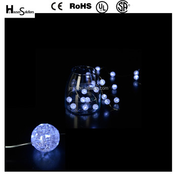 Plastic LED String Copper Wire Lights, Battery Operated Starry Fairy Lights, Decor Rope Lights For Seasonal Decoration