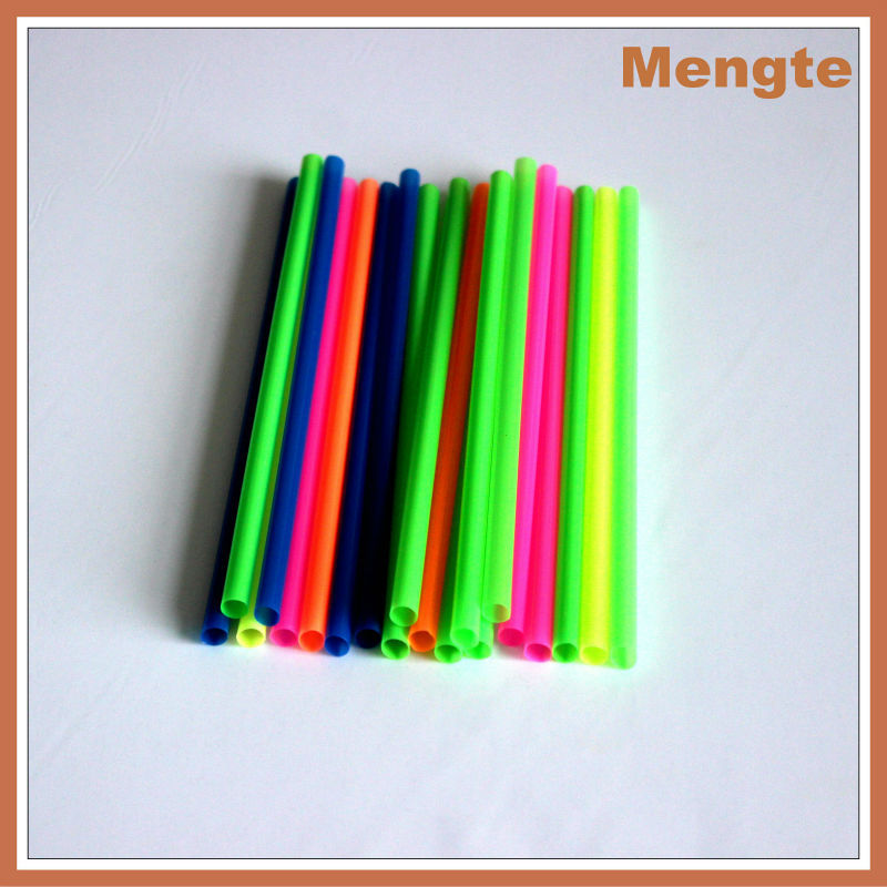 Mengte Andy thin plastic straight drinking straws