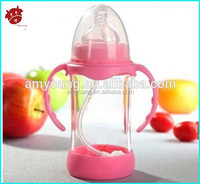 baby products juice baby bottles, baby food glass bottles, baby feeding bottle manufacturer in guangzhou