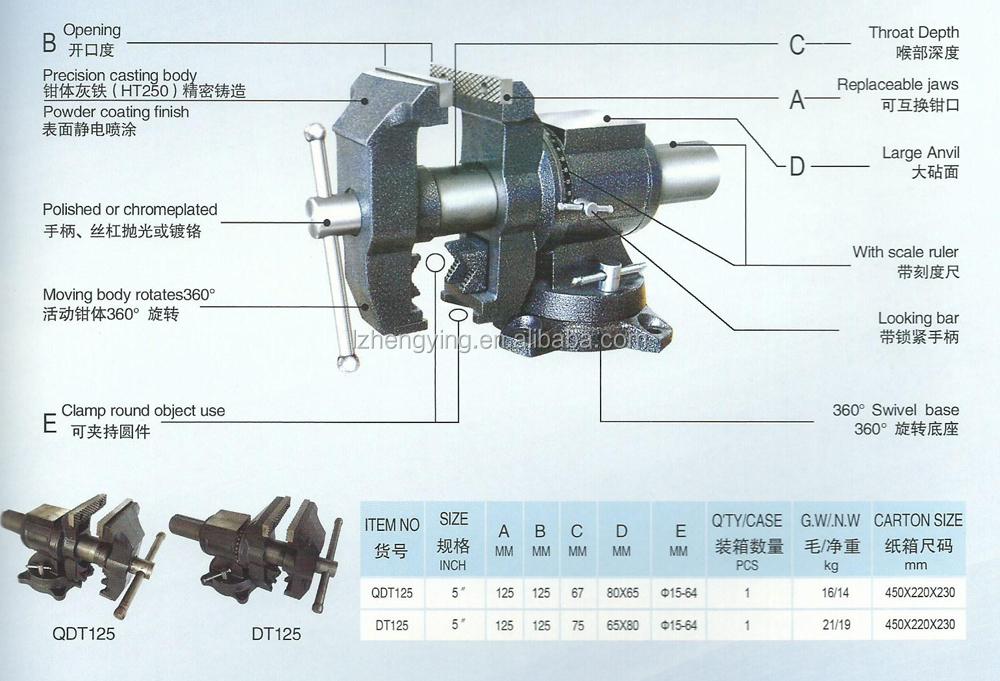 5 Heavy Duty Multi Function Bench Vise 001 Buy Multi Function Bench Vise Bench Vise Work
