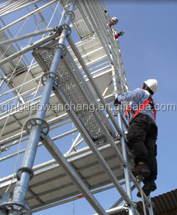 Galvanized Layher Ringlock Scaffolding System