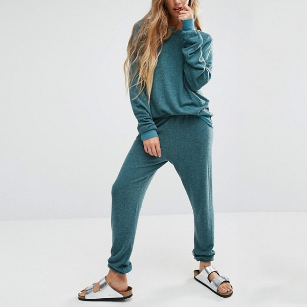 98ce70b1b4 Hot Sale Custom Blue Color Loose Fit Women Jogger Sets Wholesale Plain  Sweat Suits - Buy Plain Sweat Suits,Wholesale Sweat Suits,Jogger Sets  Wholesale ...