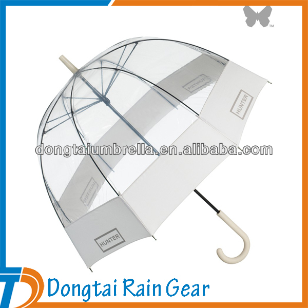 Transparent Hand Open Cheap Dome Umbrella