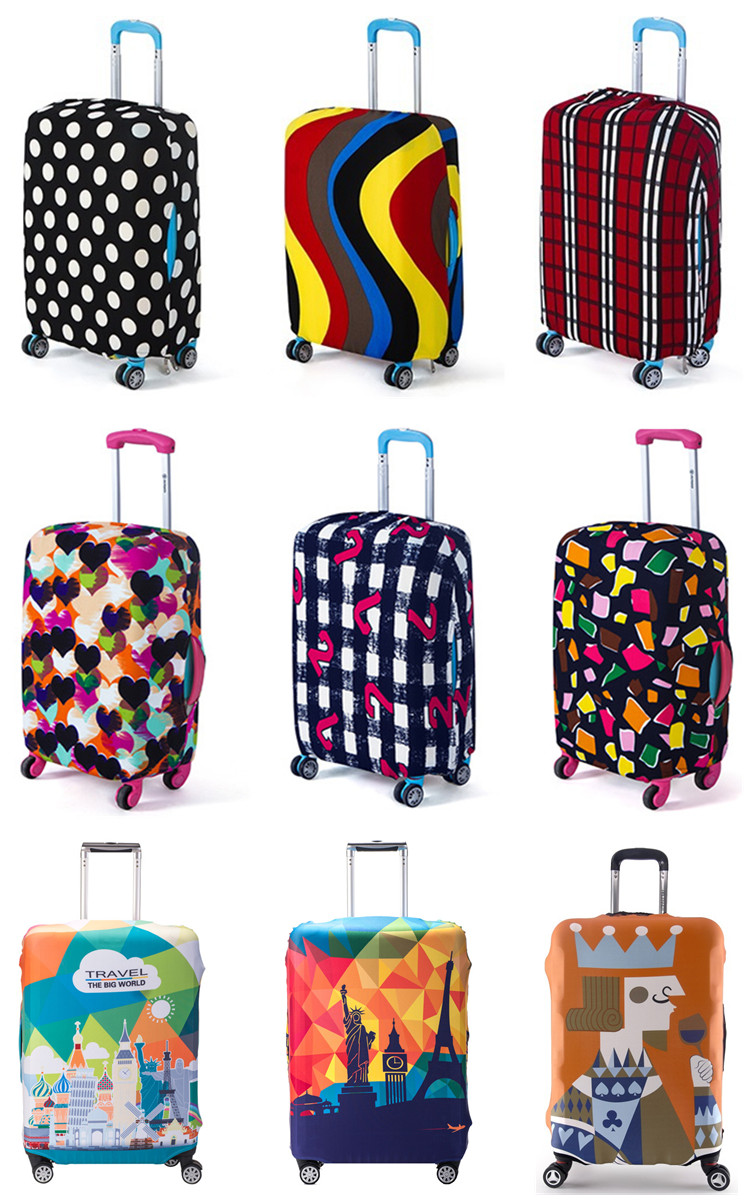 Uborse 20 inch cheap diy luggage covers for suitcase