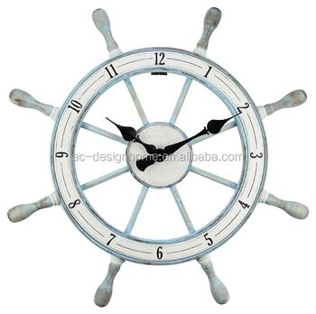Rudder Wooden Wall Clock - Buy Diy Wall Clock,Nixie Tube Clock,World Time  Wall Clock Product on Alibaba com