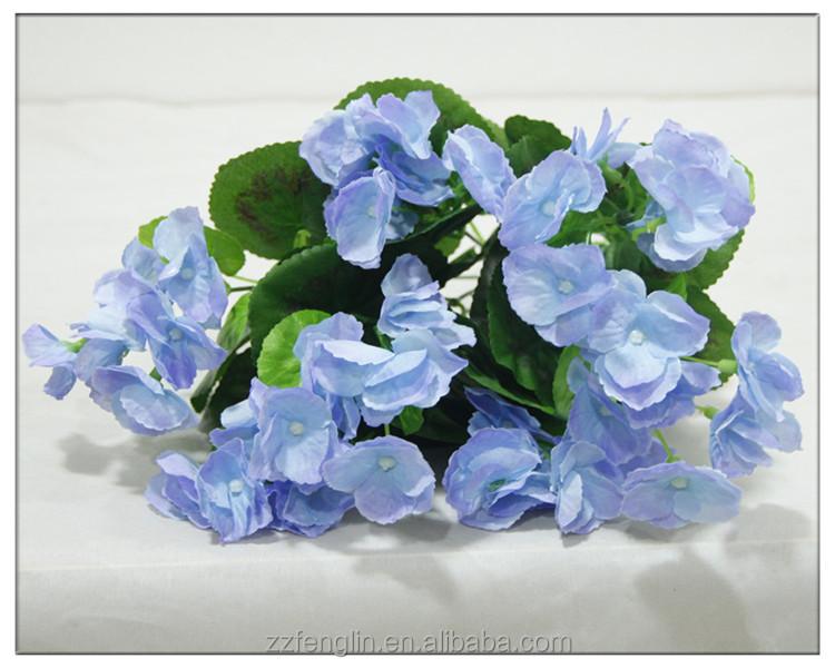 Blue silk begonia flower bouquet natural silk flowers wholesale blue silk begonia flower bouquet natural silk flowers wholesale mightylinksfo
