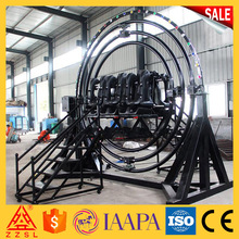 Promotion amusement park equipment rides human gyroscope for sale gyroscope