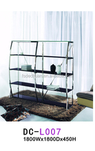 New home furniture cheap metal bookcase