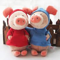 Popular Cartoon 30cm Nici Pig Wibbly Pig 4 Styles Plush Soft Doll Animal Stuffed Toy For Kid Children Birthday Gift Good Quality